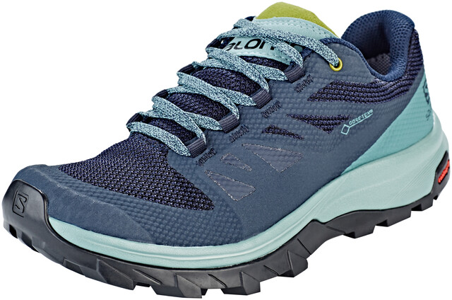 salomon outline gtx pearl blue uk